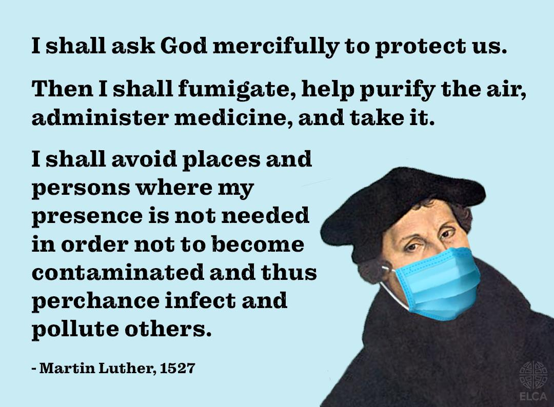 ELCA Luther quote